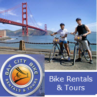 San Francisco/ Bay City Bike Rentals & Tours